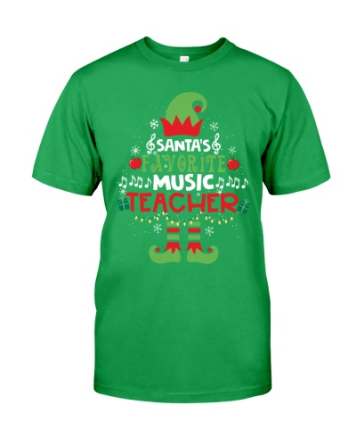 Music Teacher - Santa's Favorite
