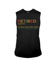 Retired Teacher - Vintage  Sleeveless Tee thumbnail