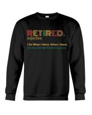 Retired Teacher - Vintage  Crewneck Sweatshirt thumbnail