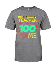 My Teacher Survived 100 Days of Me Classic T-Shirt thumbnail