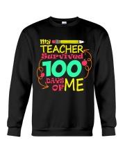My Teacher Survived 100 Days of Me Crewneck Sweatshirt thumbnail