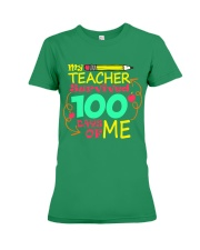 My Teacher Survived 100 Days of Me Premium Fit Ladies Tee thumbnail