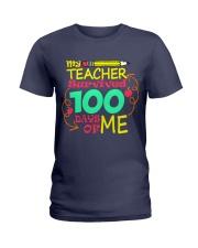 My Teacher Survived 100 Days of Me Ladies T-Shirt thumbnail