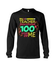 My Teacher Survived 100 Days of Me Long Sleeve Tee thumbnail