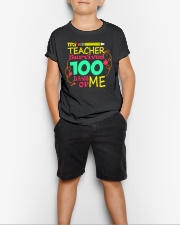 My Teacher Survived 100 Days of Me Youth T-Shirt lifestyle-youth-tshirt-front-1