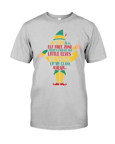 Teacher - My Class Is An Elf FreeZone