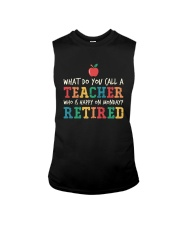 Retired Teacher - What Do You Call Sleeveless Tee thumbnail