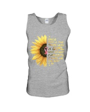 A Girl who kicked Cancers Unisex Tank thumbnail