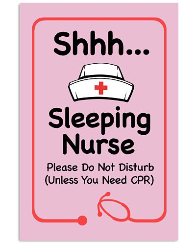 Nurse Sleeping