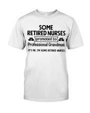 Retired Nurses Promoted to Professional Grandmas Premium Fit Mens Tee thumbnail