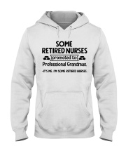 Retired Nurses Promoted to Professional Grandmas Hooded Sweatshirt thumbnail