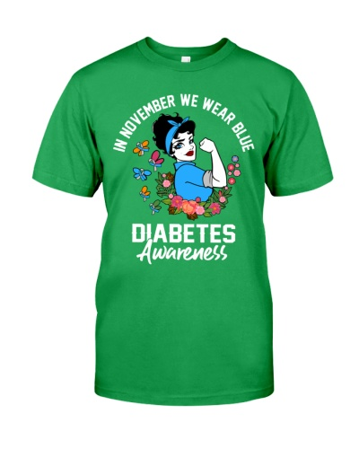 Diabetes Awareness - In November We Wear Blue