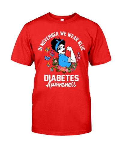 Diabetes Awareness - In November We Wear Blue