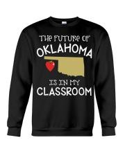 Teacher - Future of Oklahoma Crewneck Sweatshirt thumbnail