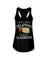 Teacher - Future of Oklahoma Ladies Flowy Tank thumbnail