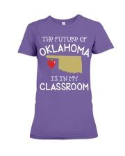 Teacher - Future of Oklahoma Premium Fit Ladies Tee thumbnail