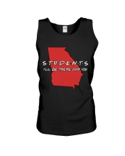 Georgia Teacher - Students I'll be there for you Unisex Tank thumbnail