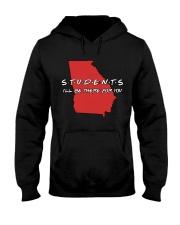 Georgia Teacher - Students I'll be there for you Hooded Sweatshirt thumbnail