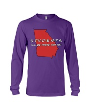 Georgia Teacher - Students I'll be there for you Long Sleeve Tee thumbnail