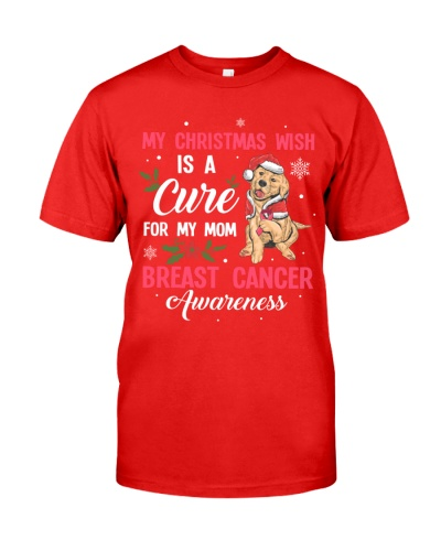 Breast Cancer - Christmas - Wish a Cure for Mom