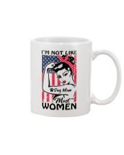 Dog Mom - I'm not like most Women Mug thumbnail