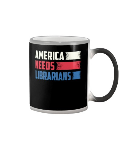 Librarian - America Needs Librarians