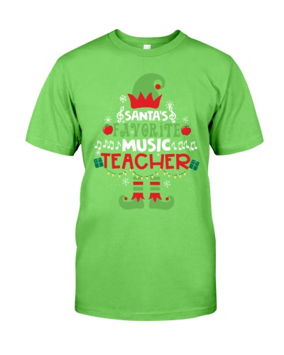 Music Teacher - Santa's Favorite Music Teacher