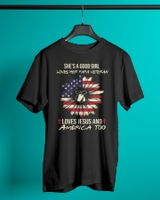 Veteran Daughter - Love Classic T-Shirt lifestyle-mens-crewneck-front-3