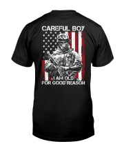Veteran - I am Old Classic T-Shirt back