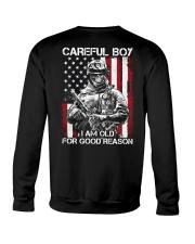 Veteran - I am Old Crewneck Sweatshirt thumbnail