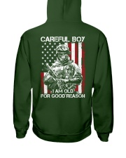 Veteran - I am Old Hooded Sweatshirt thumbnail