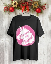 Teacher Are Magical Classic T-Shirt lifestyle-holiday-crewneck-front-2