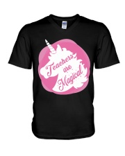 Teacher Are Magical V-Neck T-Shirt thumbnail