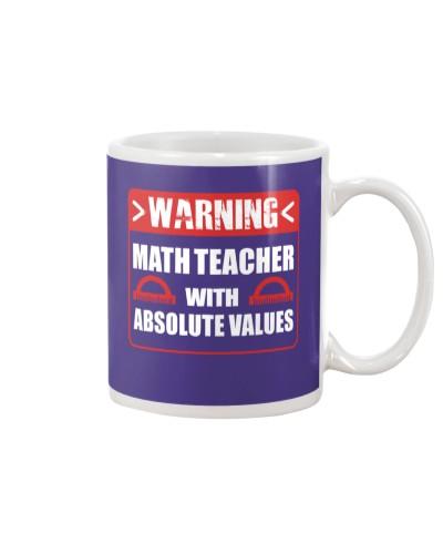 Warning Math Teacher