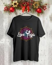 Love Yoga Classic T-Shirt lifestyle-holiday-crewneck-front-2