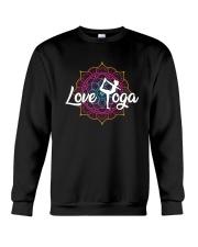 Love Yoga Crewneck Sweatshirt thumbnail