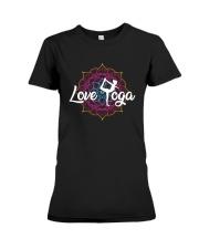 Love Yoga Premium Fit Ladies Tee thumbnail