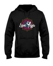 Love Yoga Hooded Sweatshirt thumbnail