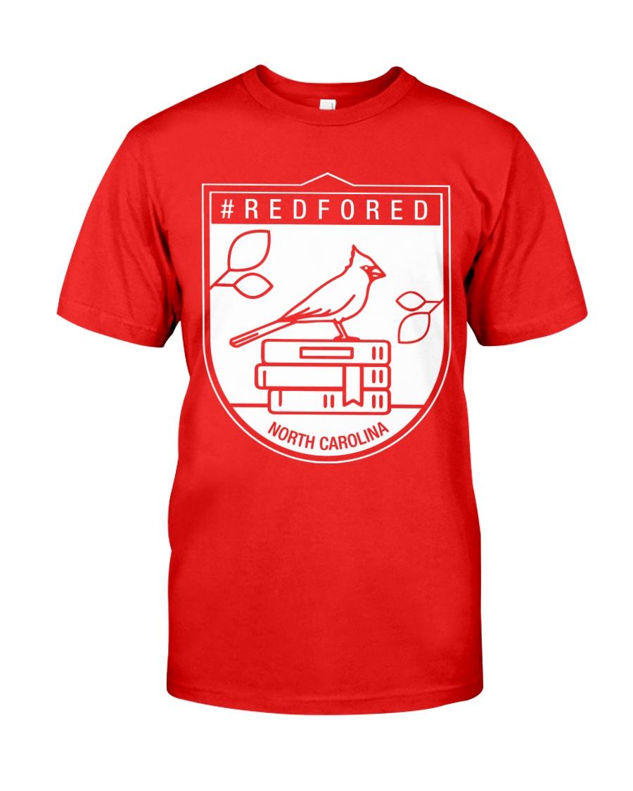 REDforED - North Carolina Teachers  Classic T-Shirt
