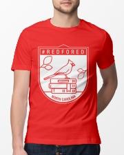 REDforED - North Carolina Teachers  Classic T-Shirt lifestyle-mens-crewneck-front-13
