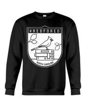 REDforED - North Carolina Teachers  Crewneck Sweatshirt thumbnail