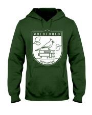 REDforED - North Carolina Teachers  Hooded Sweatshirt thumbnail