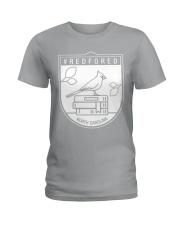 REDforED - North Carolina Teachers  Ladies T-Shirt thumbnail