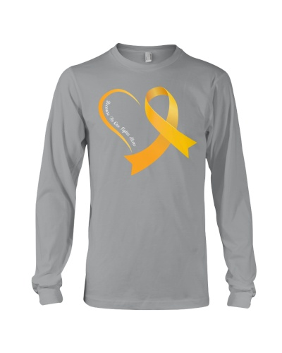 Childhood Cancer - No one fights alone