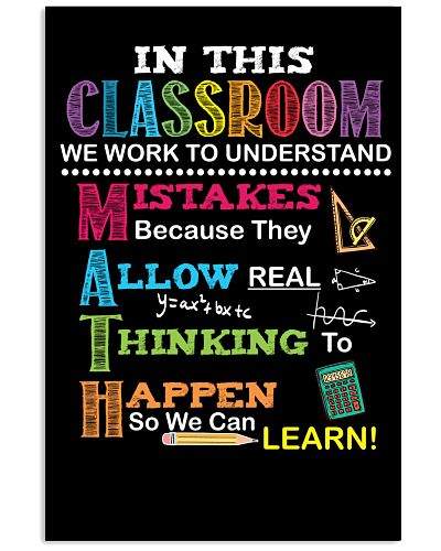 Teacher - We work to understand