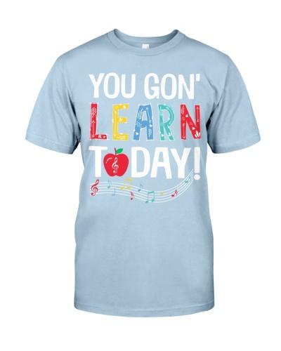 Music Teacher - You gon' Learn today