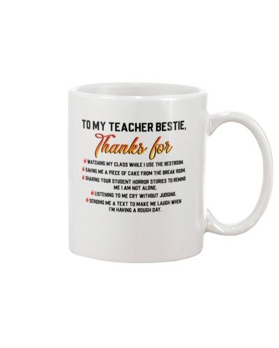 Teacher Bestie - Thanks For