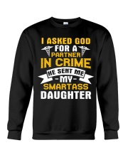 Nurse - Smartass Daughter Crewneck Sweatshirt thumbnail