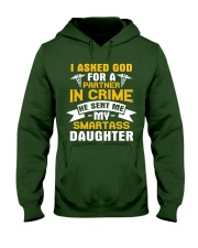Nurse - Smartass Daughter Hooded Sweatshirt thumbnail