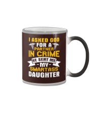 Nurse - Smartass Daughter Color Changing Mug thumbnail